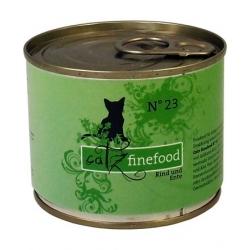 Catz Finefood N.23 Wołowina i Kaczka puszka 200g