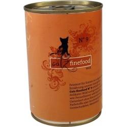 Catz Finefood N.09 Dziczyzna puszka 400g