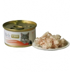 Brit Care Cat Chicken Breast - Pierś Kurczaka puszka 80g