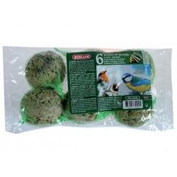 Zolux kule tłuszczowe dla ptaków 6 szt