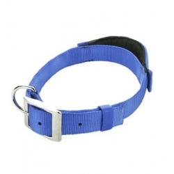 Patento Pet Obroża Basic M niebieska