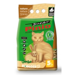 Super Pinio żwirek drewniany 5L