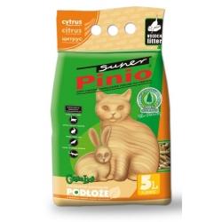 Super Pinio Cytryna żwirek drewniany 5L