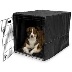 MidWest Pokrowiec na klatkę dla psa 107x71x76cm [CVR-42]