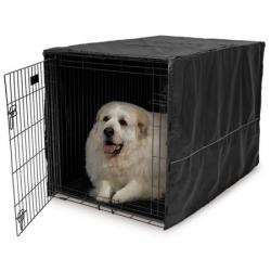 MidWest Pokrowiec na klatkę dla psa 122x76x84cm [CVR-48]