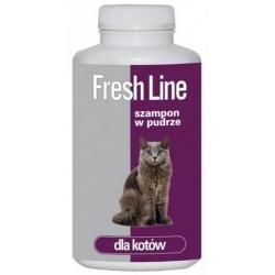 Fresh Line Szampon w pudrze dla kotów 250g