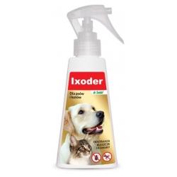 DermaPharm Ixoder Spray odstraszający kleszcze i komary dla psa i kota 100ml