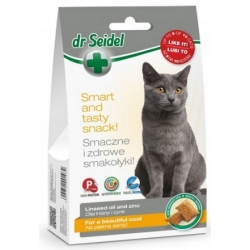 Dr Seidel Smakołyki dla kotów na piękną sierść 50g