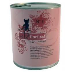 Catz Finefood N.03 Drób puszka 800g