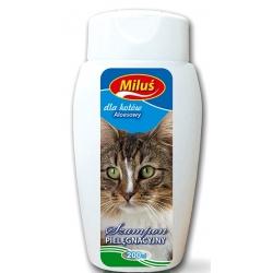 Miluś Szampon pielęgnacyjny dla kotów z aloesem 200ml