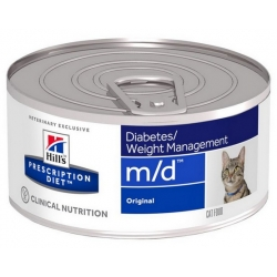 Hill's Prescription Diet m/d Feline puszka 156g