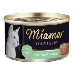 Miamor Feine Filets Dose Thunfisch & Gemuse - tuńczyk i warzywa 100g