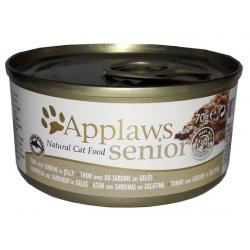 Applaws puszka dla kota Senior tuńczyk & sardynka 70g