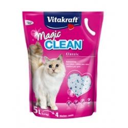 Żwirek Vitakraft Magic Clean silikonowy 5L [15506]