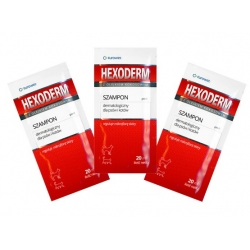 Hexoderm - szampon dermatologiczny saszetki 20x20ml