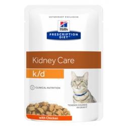 Hill's Prescription Diet k/d Feline Kurczak saszetka 85g