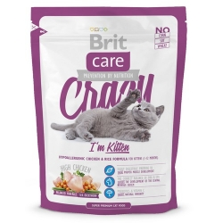 Brit Care Cat New Crazy I'm Kitten Chicken & Rice 400g