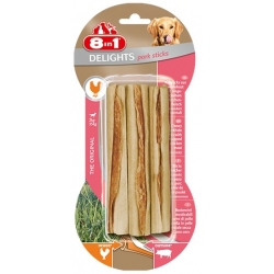 8in1 Pork Delights Sticks 3szt