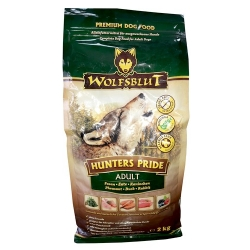Wolfsblut Dog Hunters Pride - bażant i kaczka 2kg