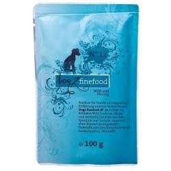 Dogz Finefood N.12 Dziczyzna i śledź saszetka 100g