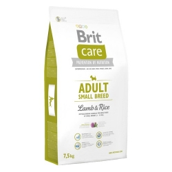Brit Care New Adult Small Breed Lamb & Rice 7,5kg