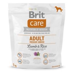Brit Care New Adult Medium Breed Lamb & Rice 1kg
