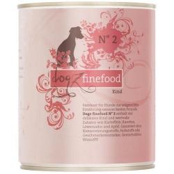 Dogz Finefood N.02 Wołowina puszka 800g