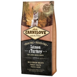 Carnilove Dog Salmon & Turkey Large Puppy - łosoś i indyk 1,5kg
