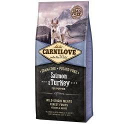 Carnilove Dog Salmon & Turkey Puppy - łosoś i indyk 12kg