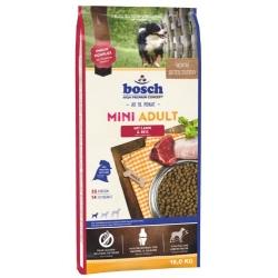Bosch Mini Adult Lamm & Reis - Jagnięcina i ryż 15kg