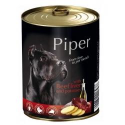 Piper Pies Wątroba wołowa i ziemniaki puszka 800g