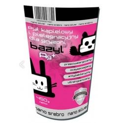 Bazyl Ag+ Pył kąpielowy i pielęgnacyjny dla gryzoni 450g
