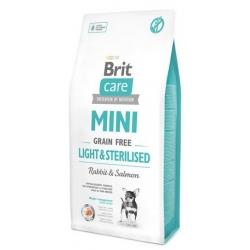 Brit Care Grain Free Mini Light & Sterilised 400g