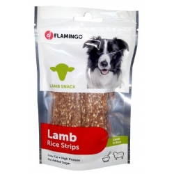 Flamingo Chick'N Lamb Rice Strips 85g