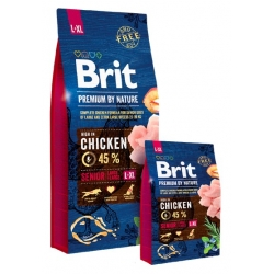 Brit Premium By Nature Senior L+XL Large + Extra Large 15kg