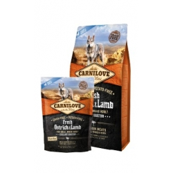 Carnilove Dog Fresh Ostrich & Lamb Adult Small - struś i jagnięcina 6kg
