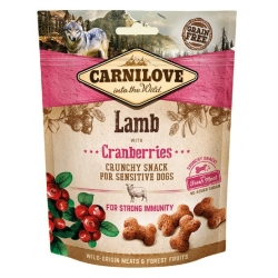 Carnilove Dog Snack Fresh Crunchy Lamb+Cranberries 200g