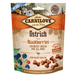 Carnilove Dog Snack Fresh Crunchy Ostrich+Blackberries 200g