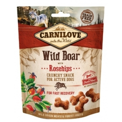 Carnilove Dog Snack Fresh Crunchy Wild Boar+Rosehips 200g