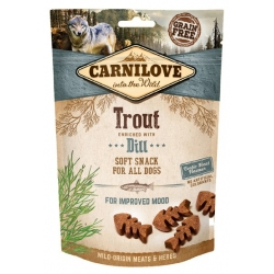 Carnilove Dog Snack Fresh Soft Trout+Dill 200g