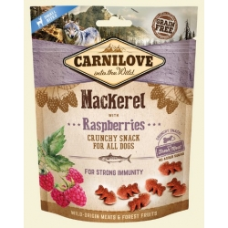 Carnilove Dog Snack Fresh Crunchy Mackerel+Raspberries 200g