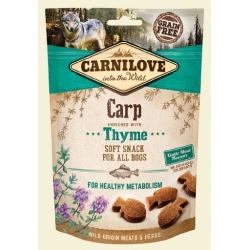 Carnilove Dog Snack Fresh Soft Carp+Thyme 200g
