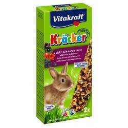 Vitakraft Kracker 2szt Królik Owoce leśne/czarny bez 112g [10624]