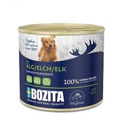 Bozita Dog Pasztet z łosiem puszka 625g