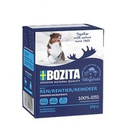 Bozita Dog Tetra Recart z reniferem w galaretce kartonik 370g