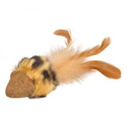 Flamingo Zabawka z prasowanej kocimiętki - mysz [560531]