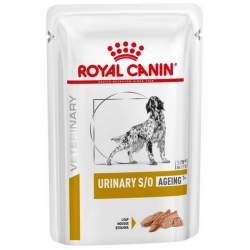 Royal Canin Veterinary Diet Canine Urinary S/O Ageing +7 saszetka 100g