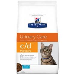 Hill's Prescription Diet c/d Feline z Rybami Morskimi 1,5kg