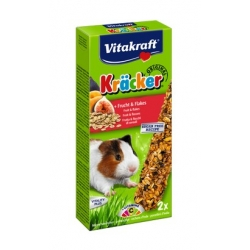 Vitakraft Kracker 2szt Świnka morska Owocowy 112g [10639]