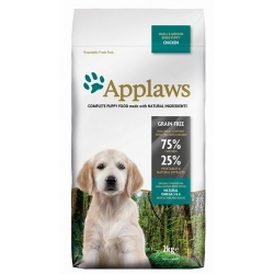 Applaws Puppy Small & Medium Breed Kurczak 7,5kg